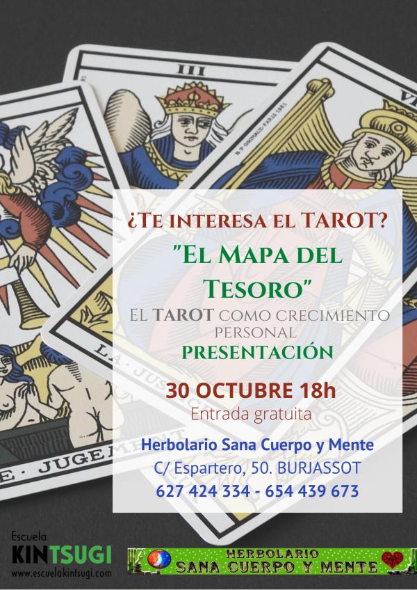 Escuela Kintsugi - Tarot - 30 de octubre de 2021