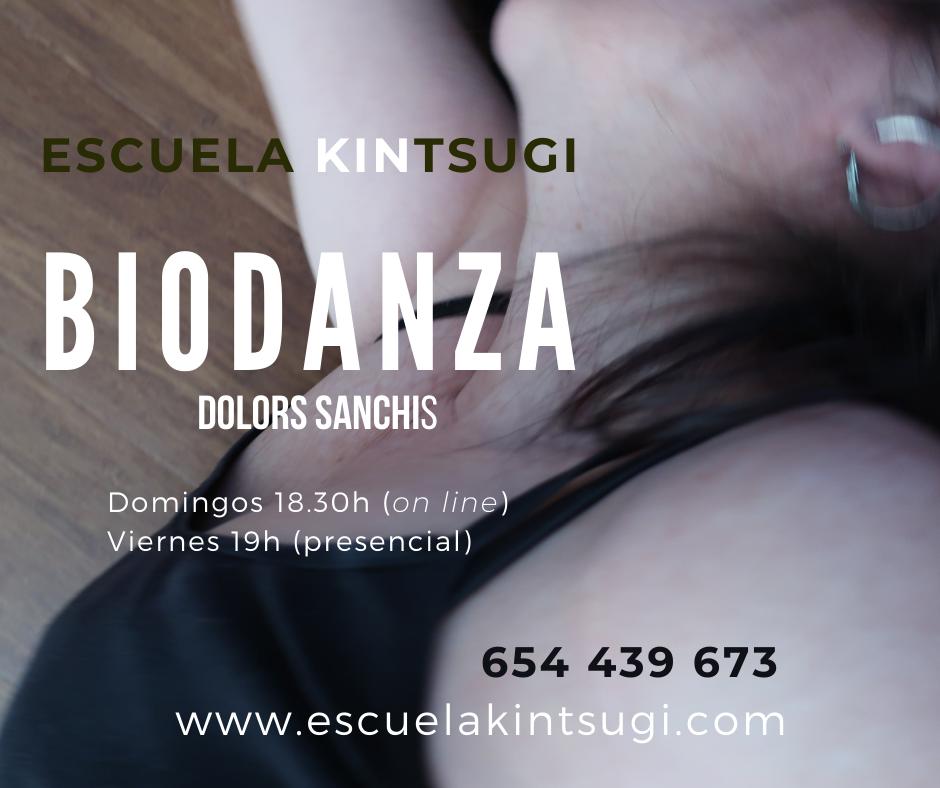 Escuela Kintsugi Biodanza todos los domingos 2021