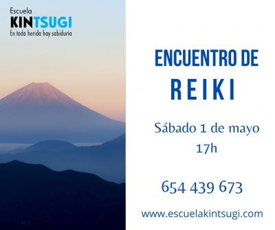 Escuela Kintsugi Encuentro de Reiki 1 de mayo de2021